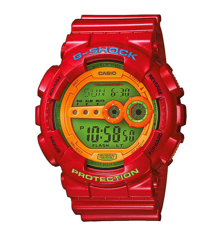 Часы CASIO GD-100HC-4E