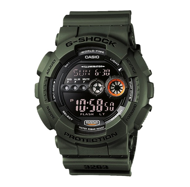 Часы CASIO GD-100MS-3E