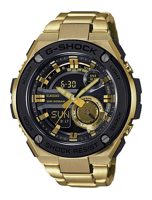Часы CASIO GST-210GD-1A